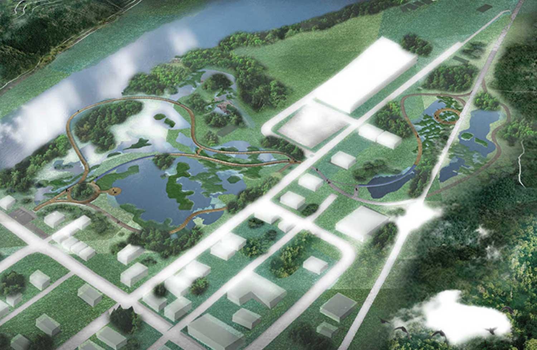 artist rendering of urban planning